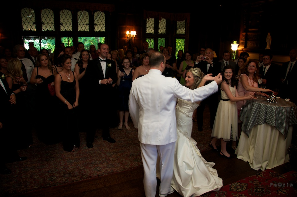 couple's first dance...